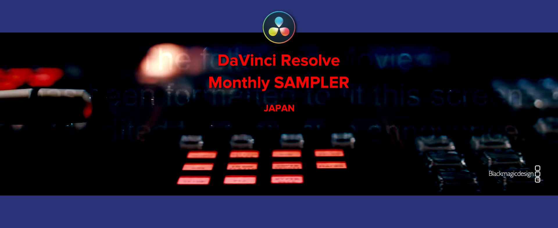 DaVinci Resolve Monthly SAMPLER Vol.9